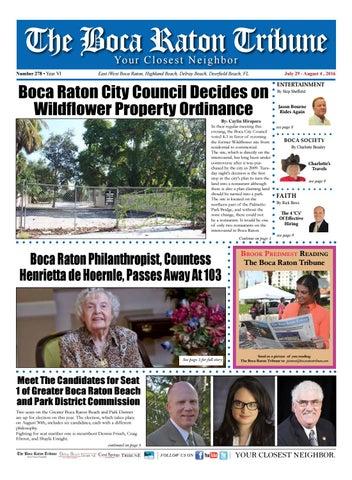 the boca raton tribune ed 278 by the boca raton tribune issuu