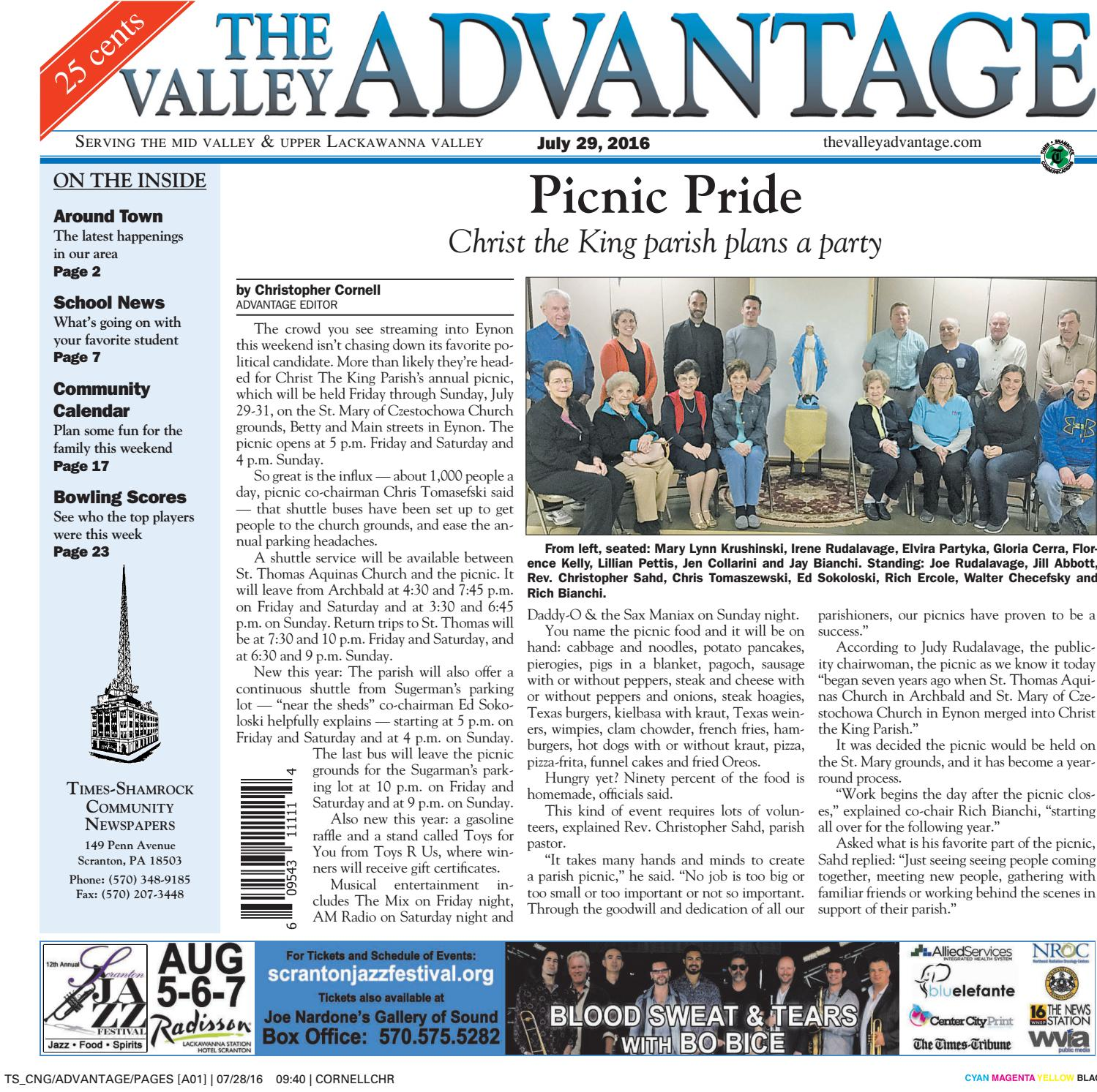 The Valley Advantage 07 29 16 By CNG Newspaper Group Issuu