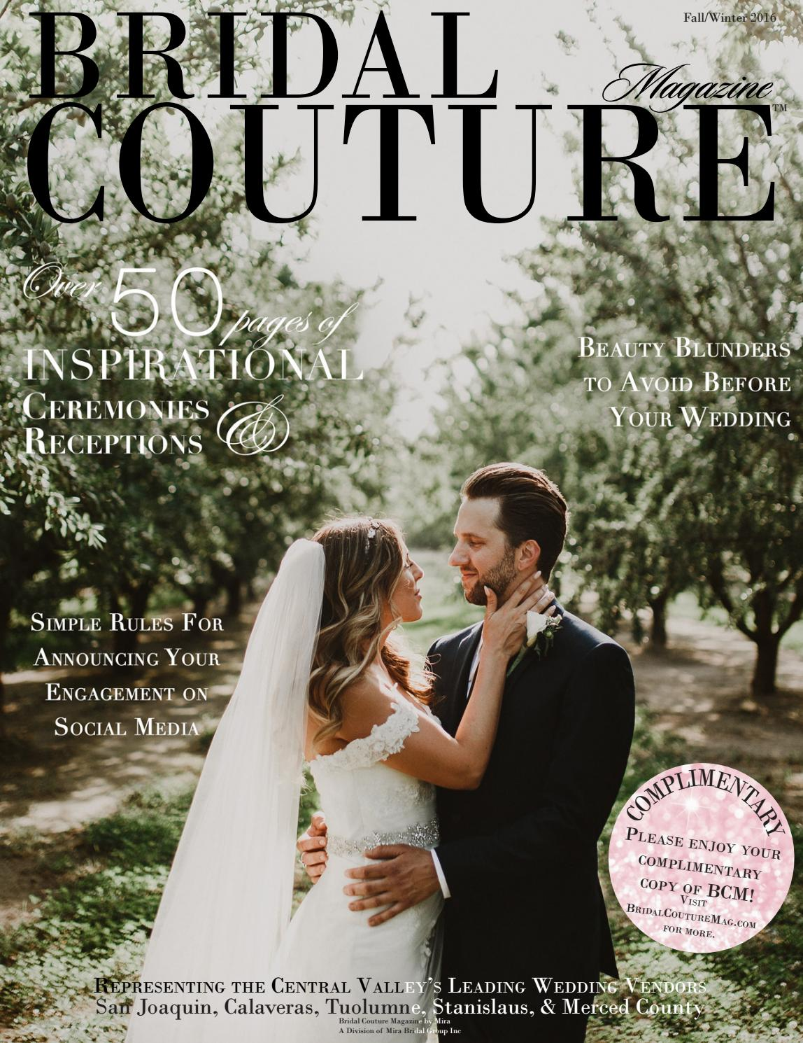 Bridal Couture Magazine Fall Winter 2016 By Bridal Couture