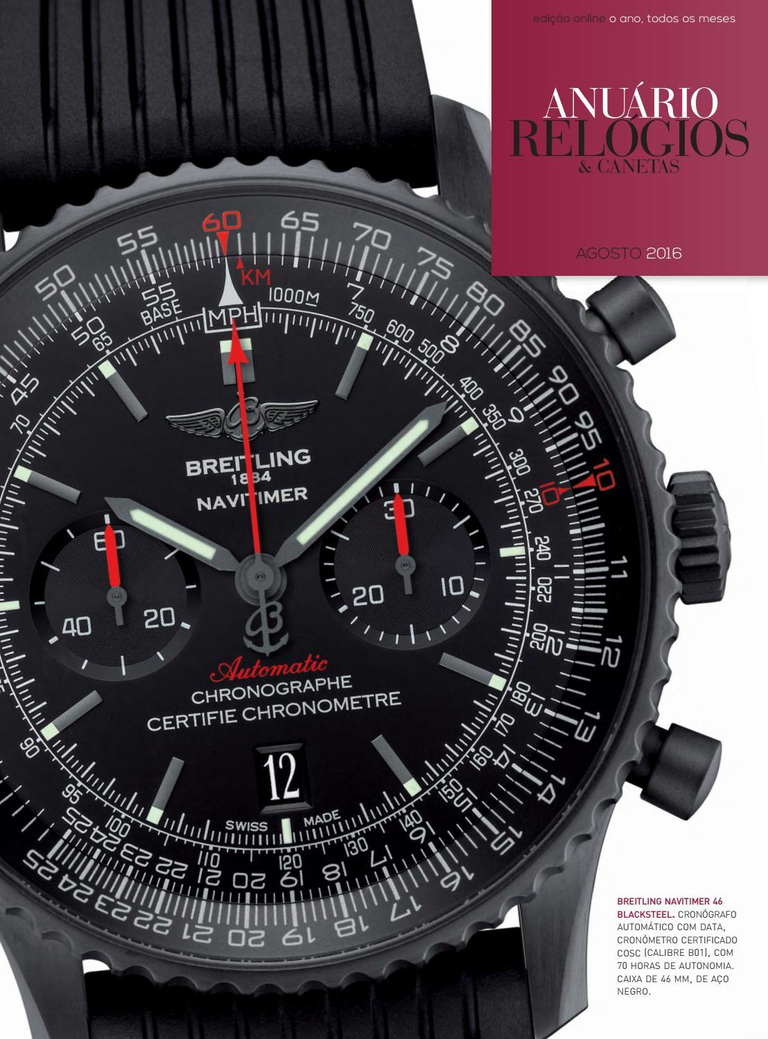 640e30ae447 Relógios   Canetas Online Agosto 2016 by Projectos Especiais - issuu