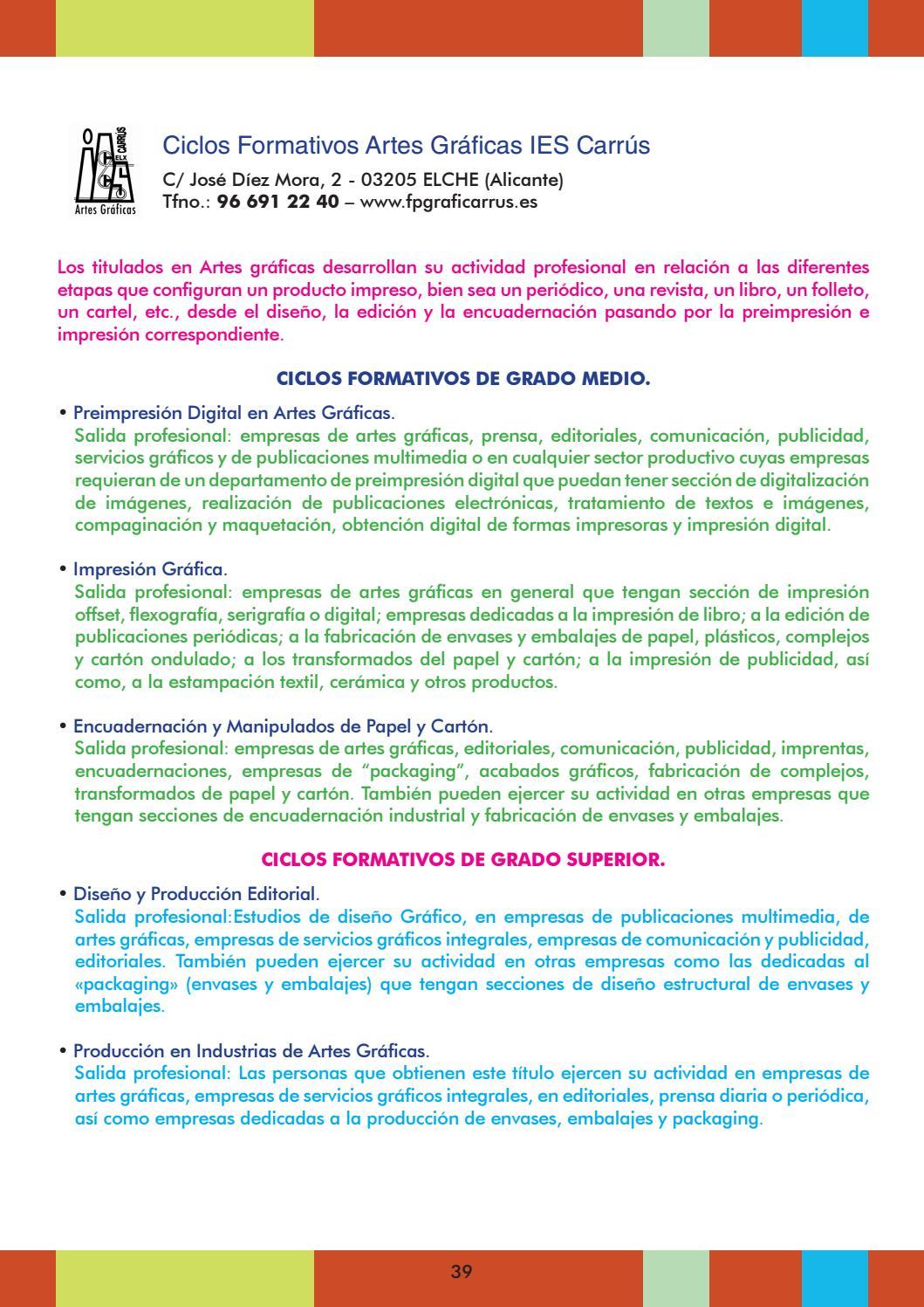 El Baúl Del Estudiante Guía Estudios 2016 17 Diseño Final