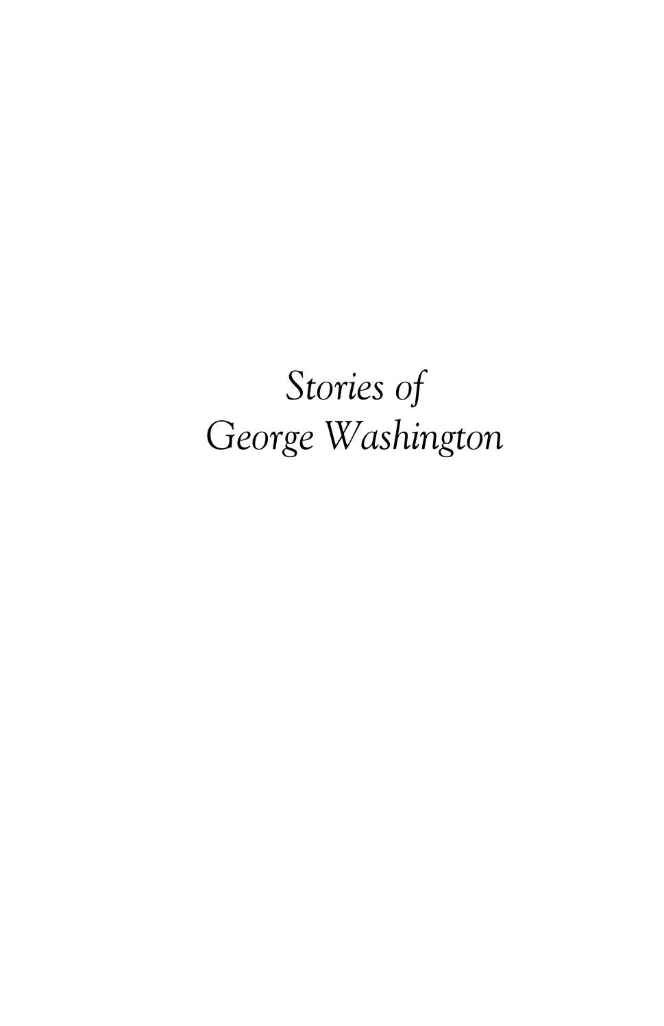 e303affe165ef Stories of George Washington by Libraries of Hope - issuu