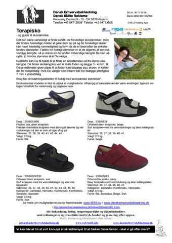 3915eaae7c0 335 terapisko og guide til skostørrelse 16 by Dansk ...
