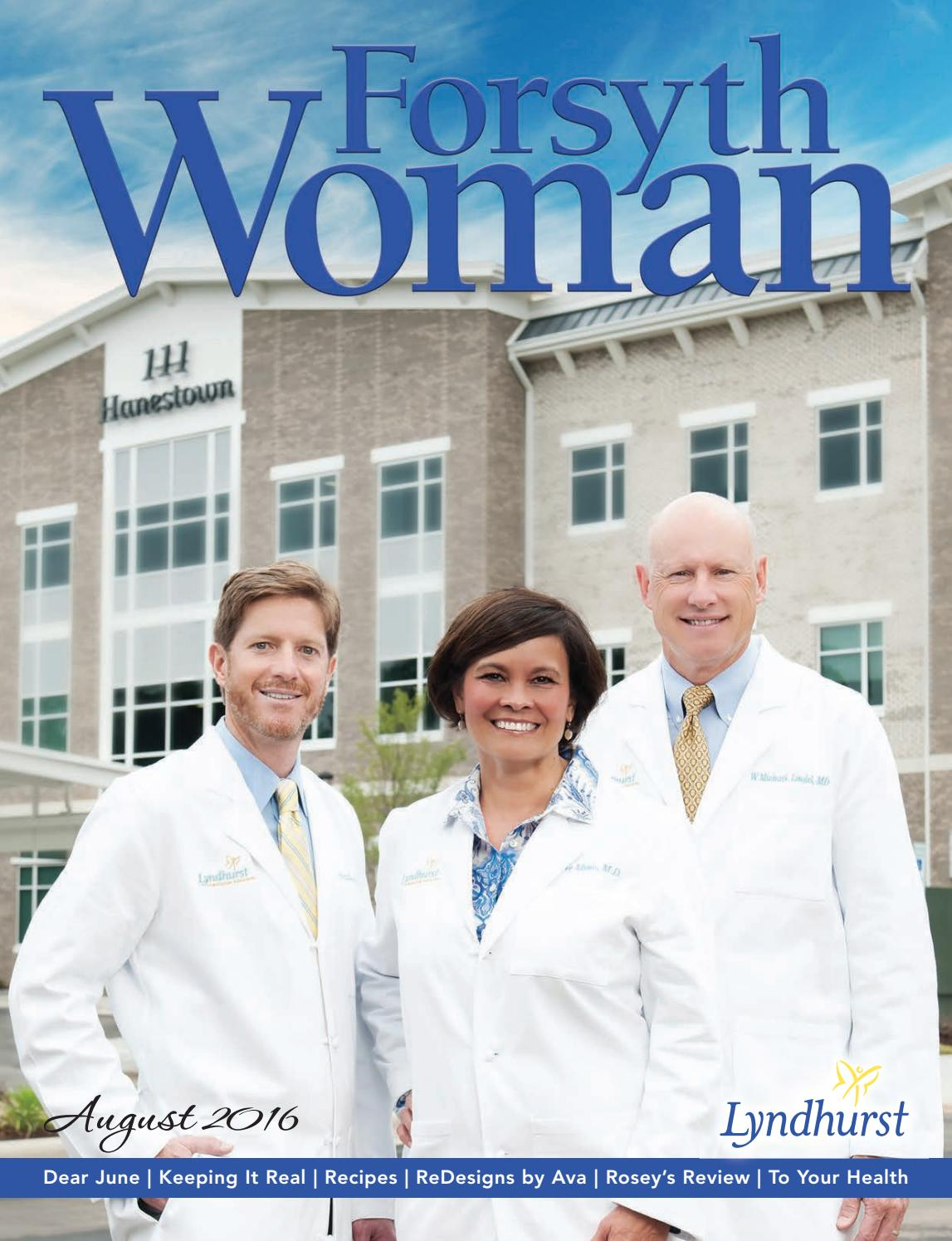 Forsyth Woman August 2016 By Forsyth Mags Issuu