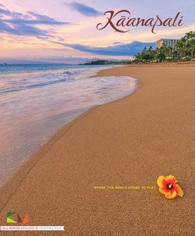 Kaʻanapali Magazine Fall/Winter 2016-2017
