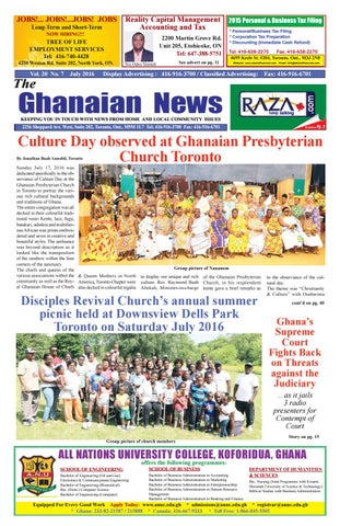 Ghanaian News July 2016 By Buzz Feed Issuu