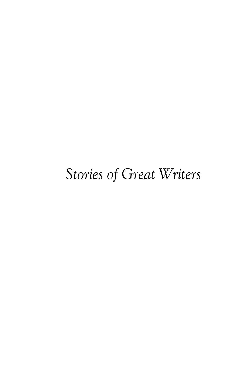 Stories of Great Writers by Libraries of Hope issuu