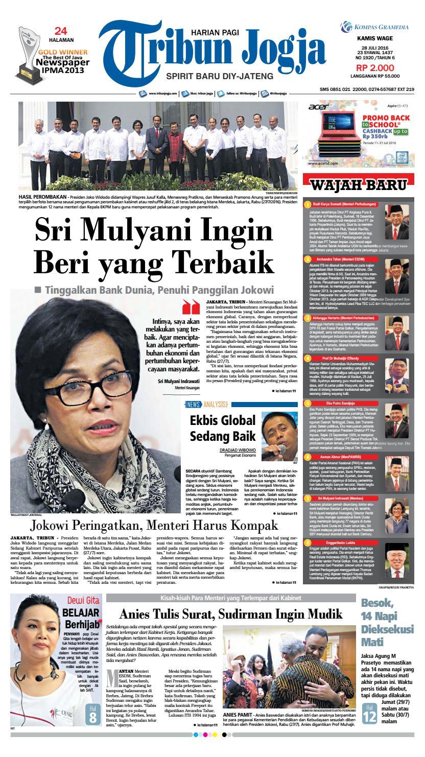 Tribunjogja 28 07 2016 By Tribun Jogja Issuu Produk Ukm Bumn Gaun Putih Maya Raisa Kebaya