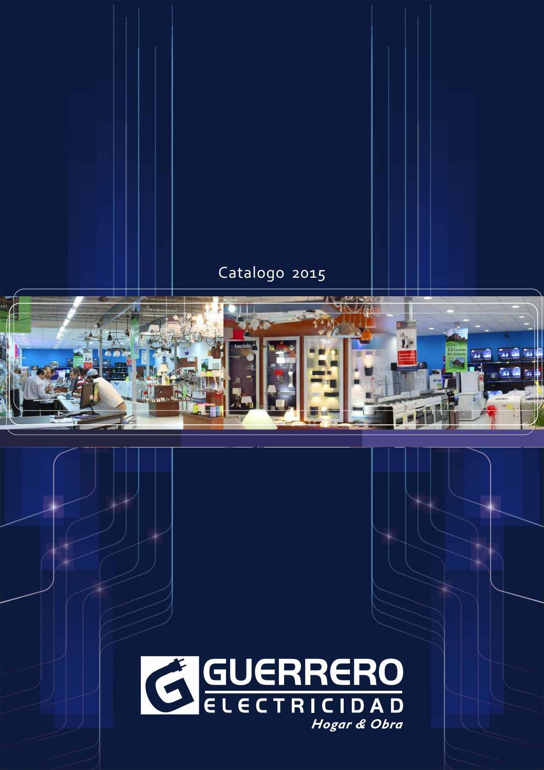 Catalogo productos - Guerrero Electricidad by Guerrero Electricidad - issuu eb084a5c614