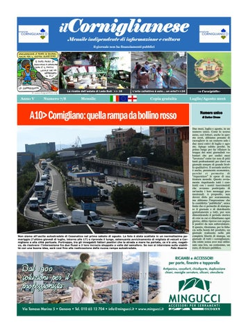 ilCorniglianese Mensile indipendente di informazione e cultura Il giornale  non ha finanziamenti pubblici