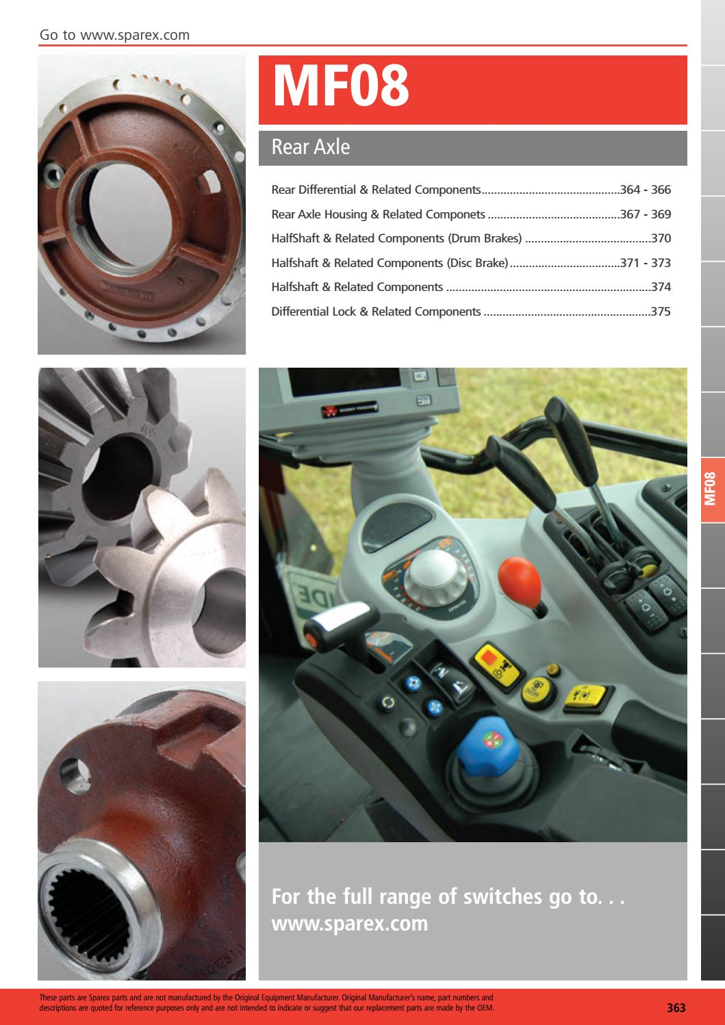 186198M1 New Ring Seal for Massey Ferguson Tractor 135 135 UK 150 165 165 UK