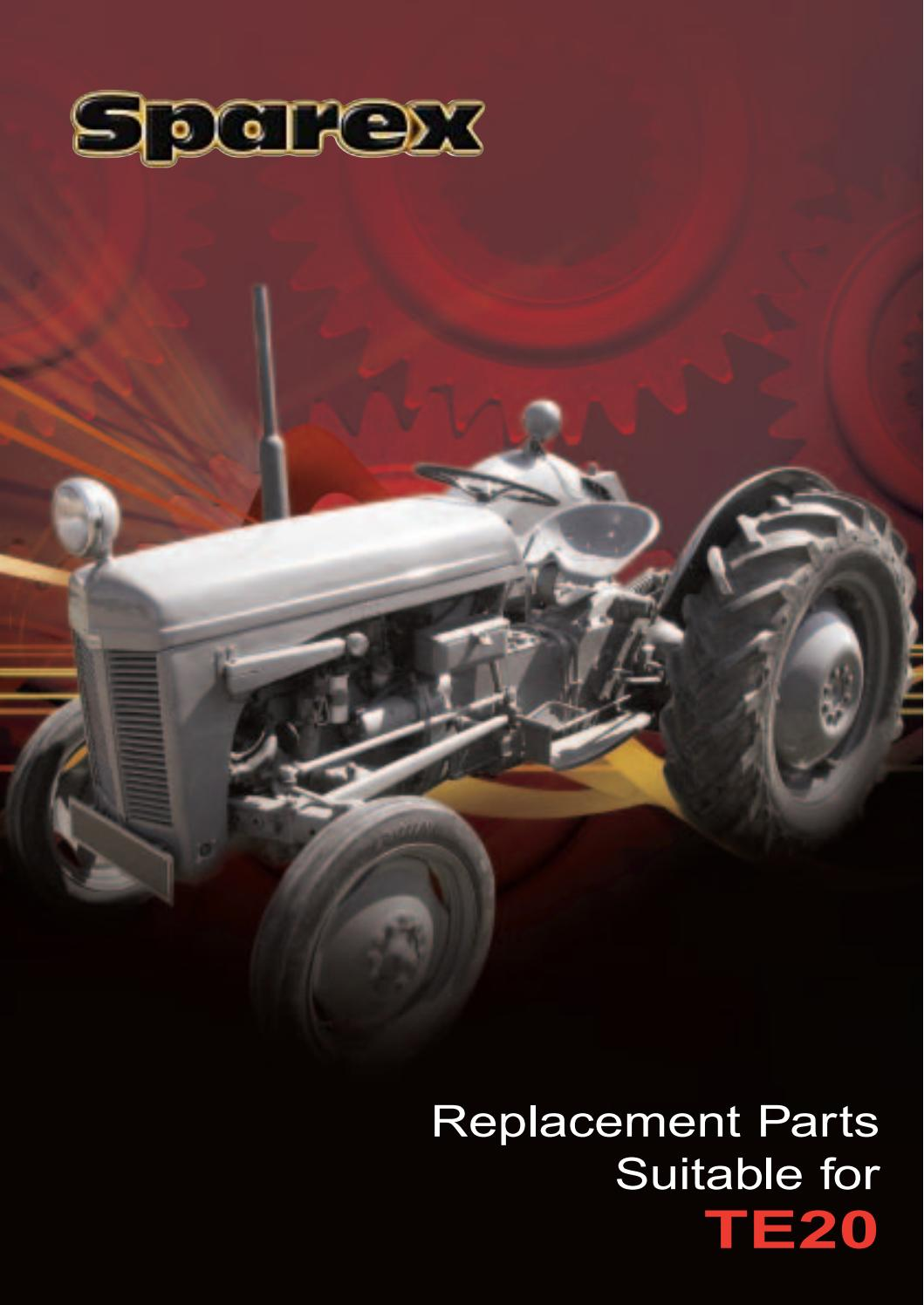 Ferguson Te20 Parts : S te catalogue by heads tractors issuu