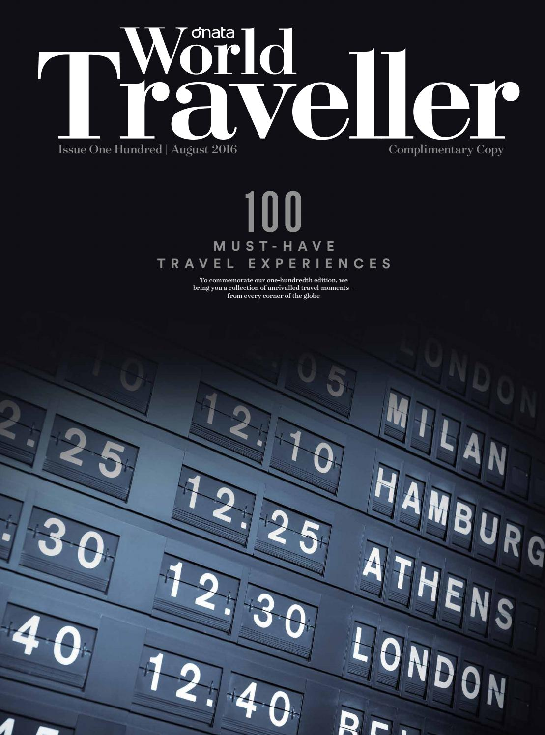 World Traveller August16 By Hot Media Issuu