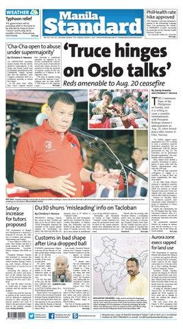 ba29e5f41a0 Manila Standard - 2016 August 1 - Monday by Manila Standard - issuu