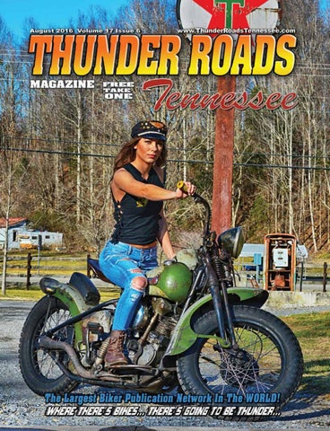 Thunder Roads Magazine Tennessee August 2016 by Thunder
