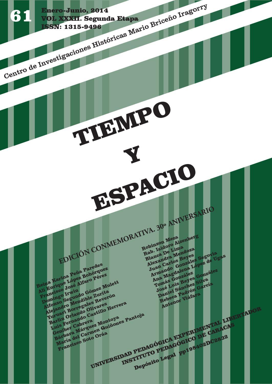 Tiempo y espacio - 61 by Revista Tiempo y Espacio - issuu
