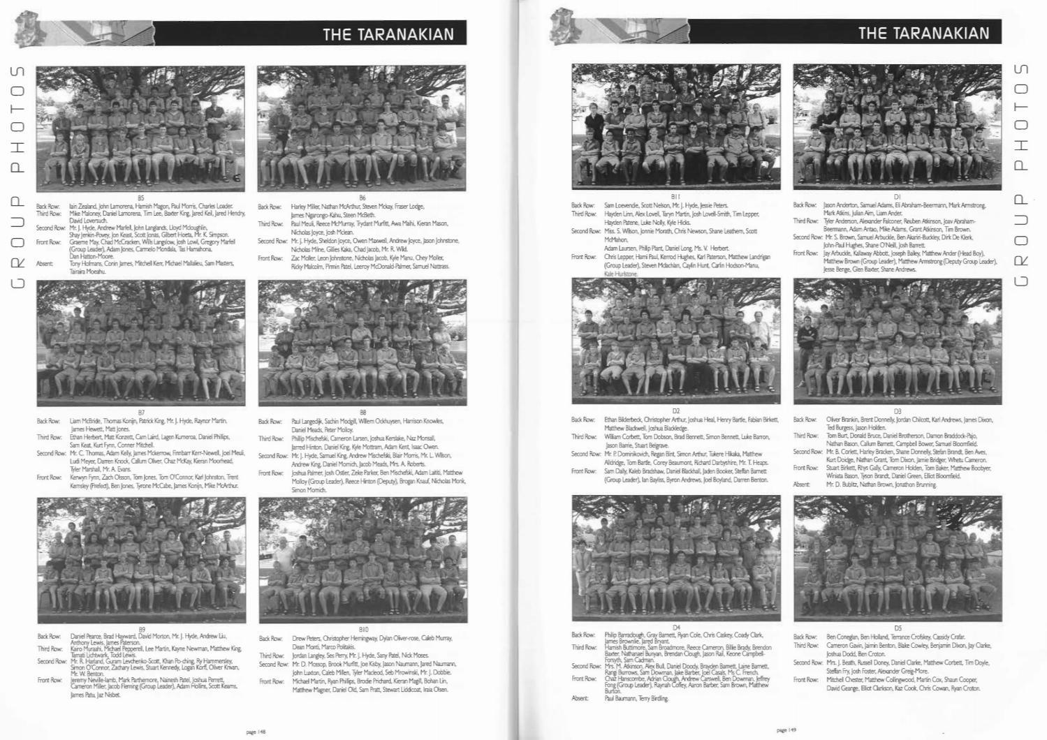2005 The Taranakian By New Plymouth Boys High School Issuu