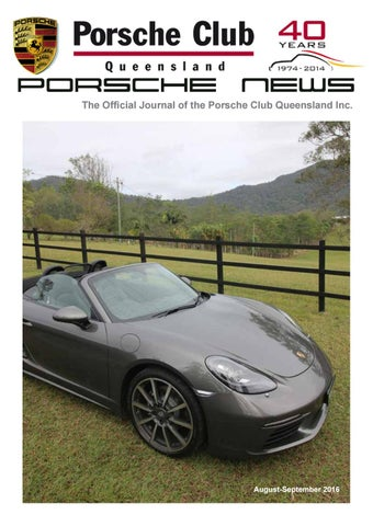 Porsche News August - September 2016 by Composite Colour - issuu