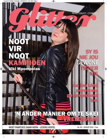 """Cover of """"Glitter august 2016"""""""