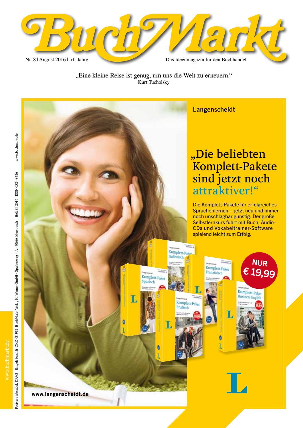 Buchmarkt Leseprobe Verlagsanzeigen 08 2016 By Buchmarkt Issuu