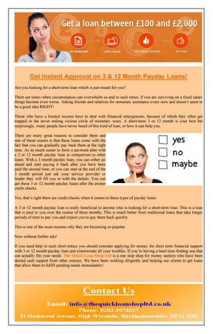 salaryday financial loans unfavorable credit ratings