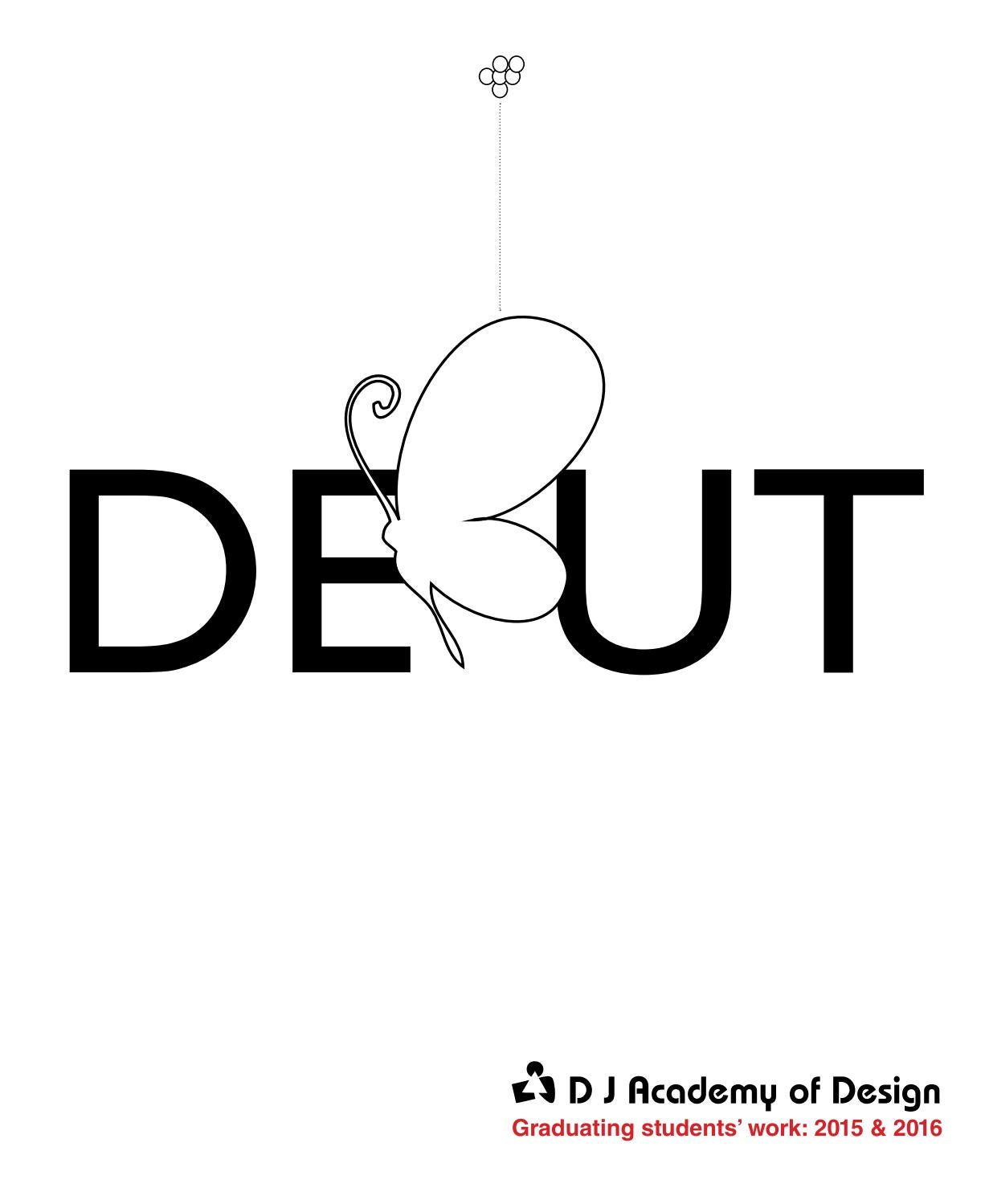 Debut 2016 by DJ Academy of Design - issuu
