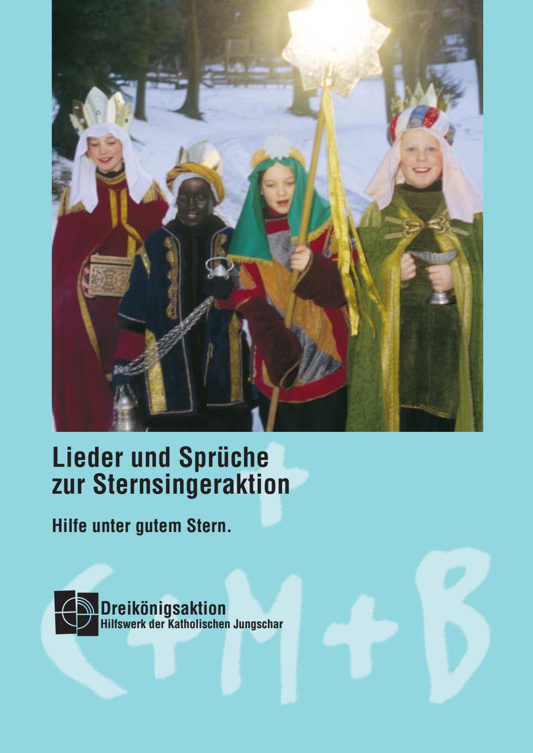 Lieder Und Sprüche Zur Sternsingeraktion 1 By Silvia Kreczy