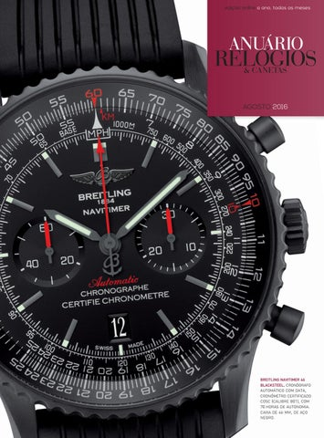 cd9464dd471 Anuário Relógios   Canetas - Agosto 2016 by Anuário Relógios ...