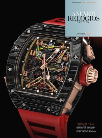 354662e849f Anuário Relógios   Canetas - Outubro 2014 by Anuário Relógios ...