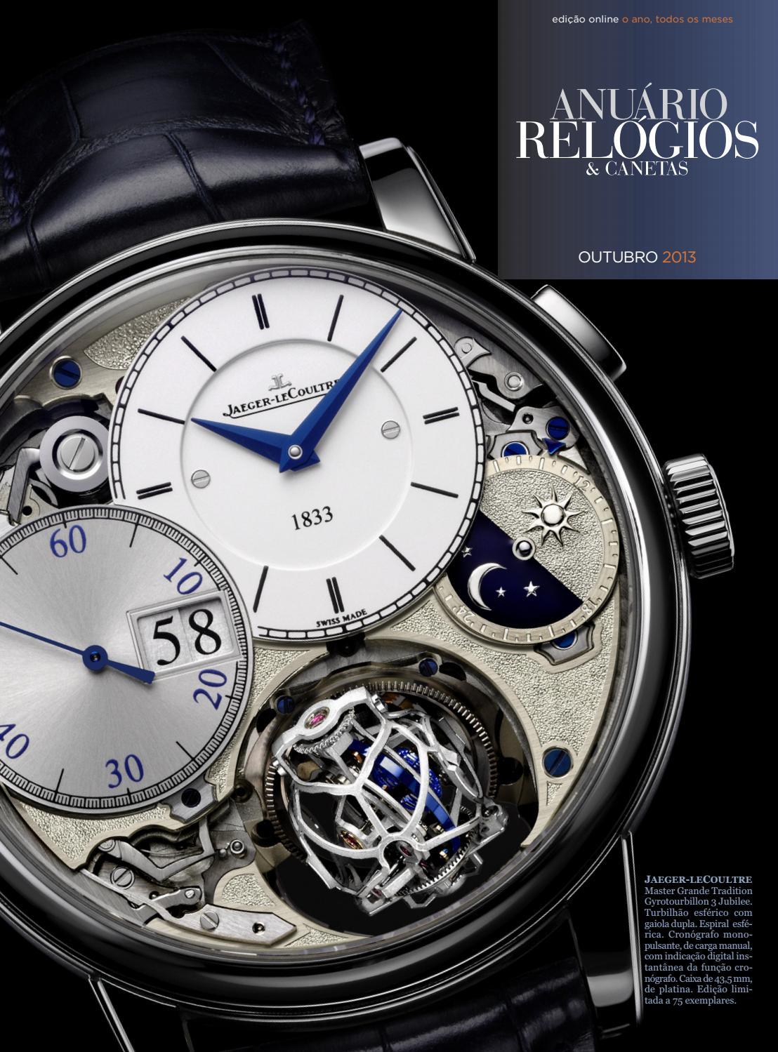 e44d41a3848 Anuário Relógios   Canetas - Outubro 2013 by Anuário Relógios   Canetas -  issuu