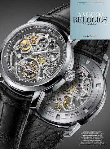 ba8c80f579c Anuário Relógios   Canetas - Março 2014 by Anuário Relógios ...