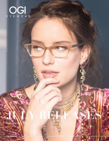 1780ae4f482 Ogi Eyewear July 2016 Releases. by ogieyewear · Cover of