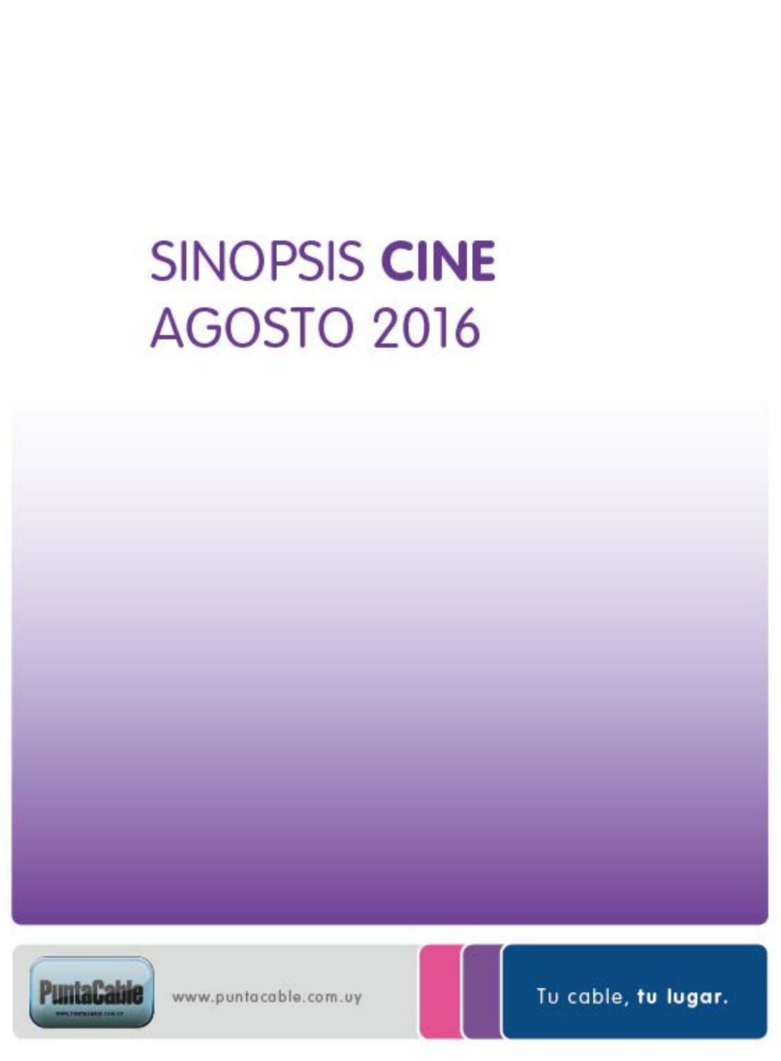 Agosto Sinopsis By Punta Cable Issuu