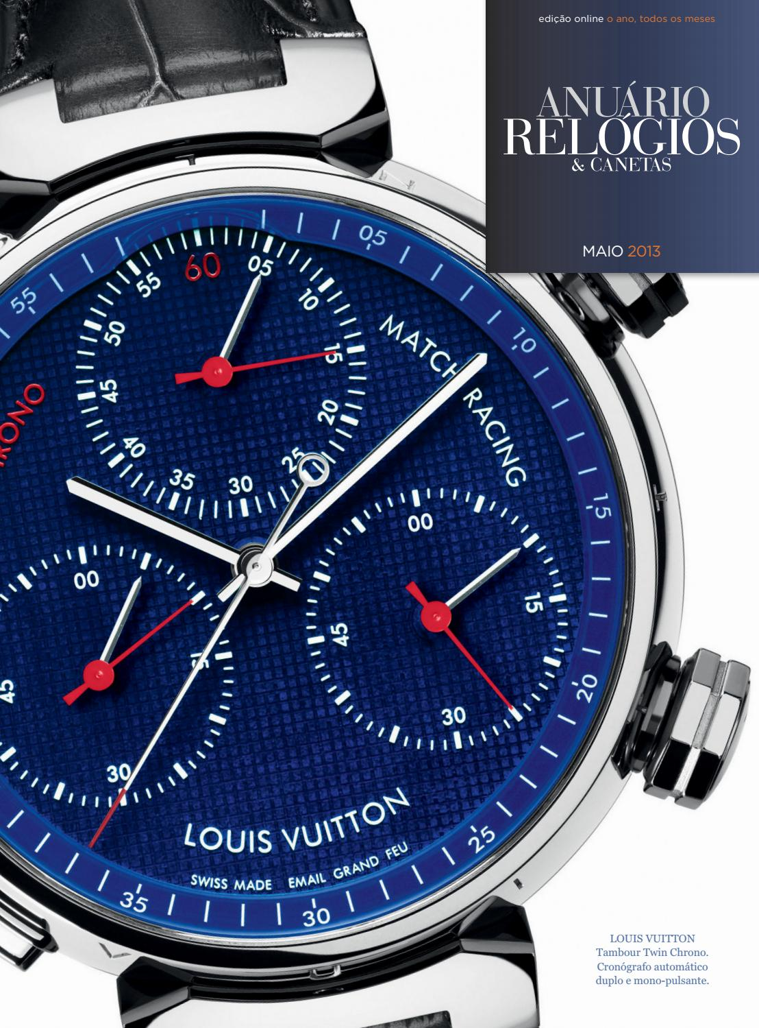 1b639c18b5e Anuário Relógios   Canetas - Maio 2013 by Anuário Relógios   Canetas - issuu