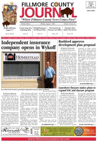 Fillmore county journal 8116 by jason sethre issuu page 1 sciox Choice Image