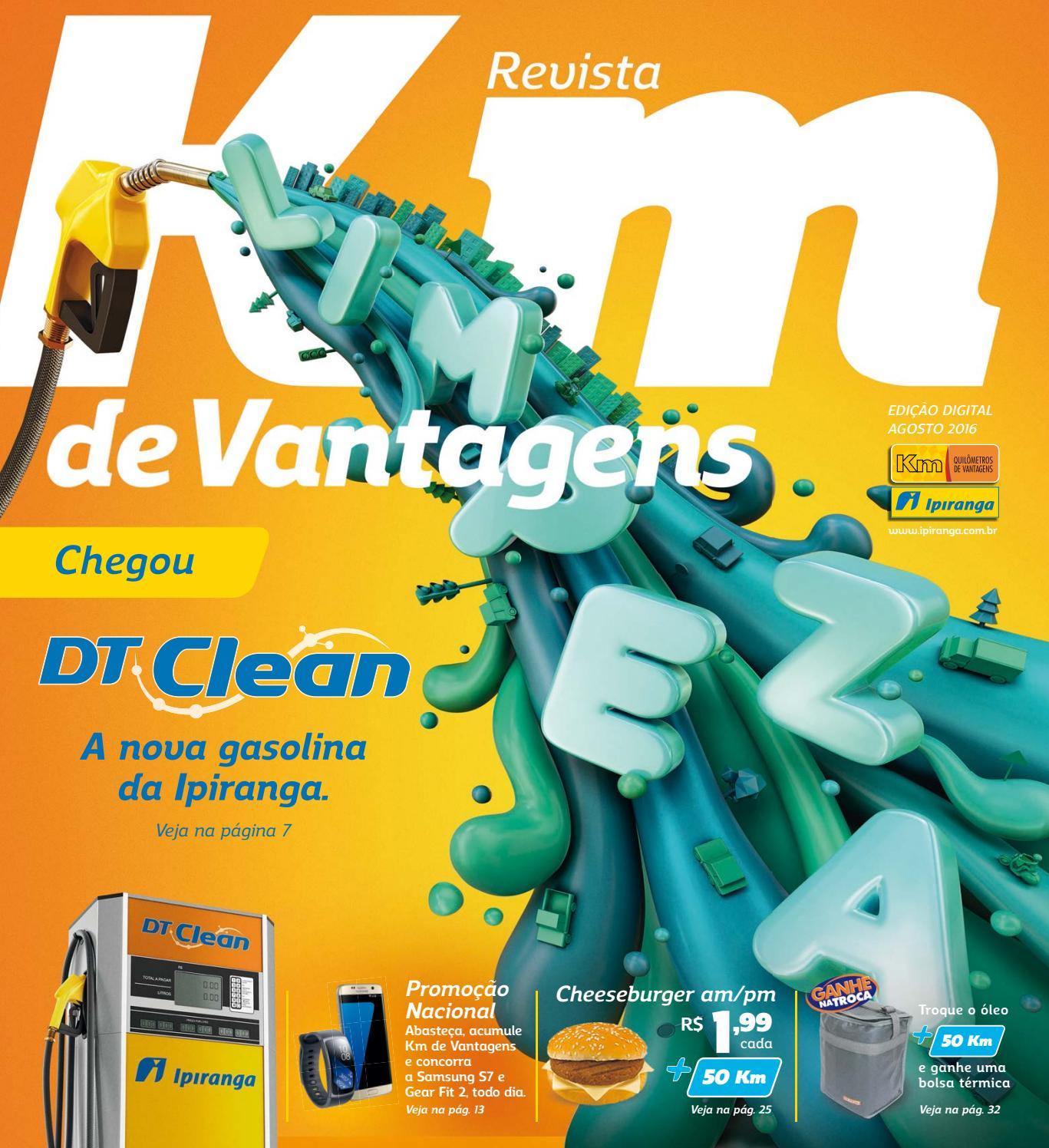 fc75c2888cb98 Revista Km de Vantagens - Agosto 2016 - Site Ipiranga by Km de Vantagens -  issuu