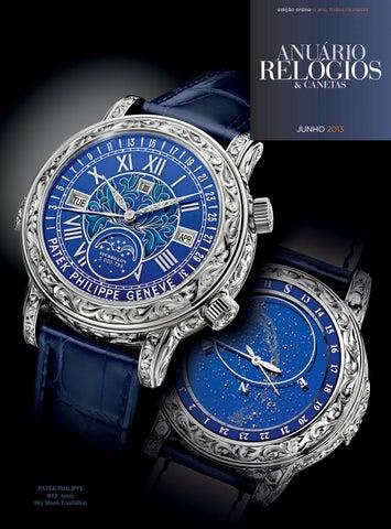 d4bac33b9cb Anuário Relógios   Canetas - Junho 2015 by Anuário Relógios ...