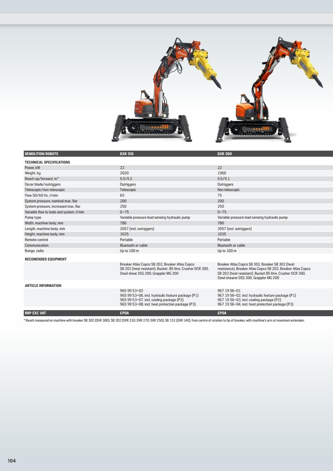 HCP UK Price List 2016 by Husqvarna Construction Products