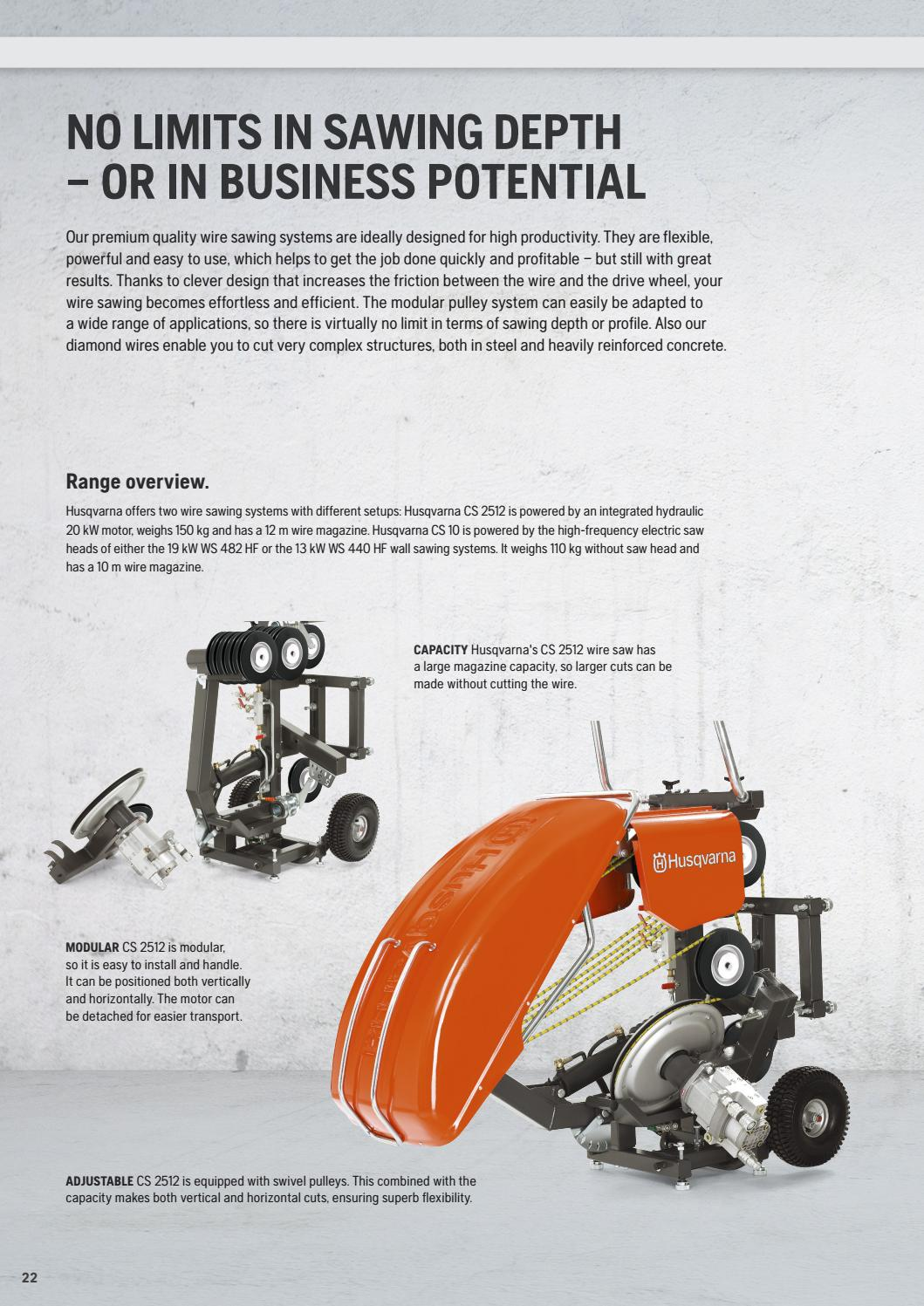 HCP UK Price List 2016 by Husqvarna Construction Products - issuu