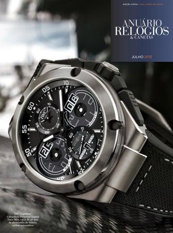 eba020d704c Anuário Relógios   Canetas - Julho 2013 by Anuário Relógios ...