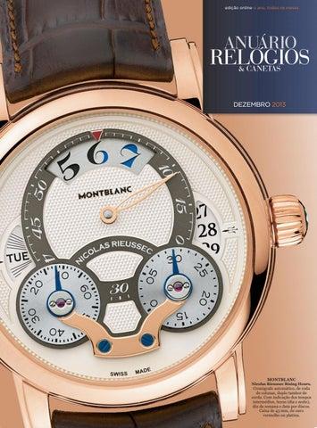 7de7932365e Anuário Relógios   Canetas - Dezembro 2017 by Anuário Relógios ...