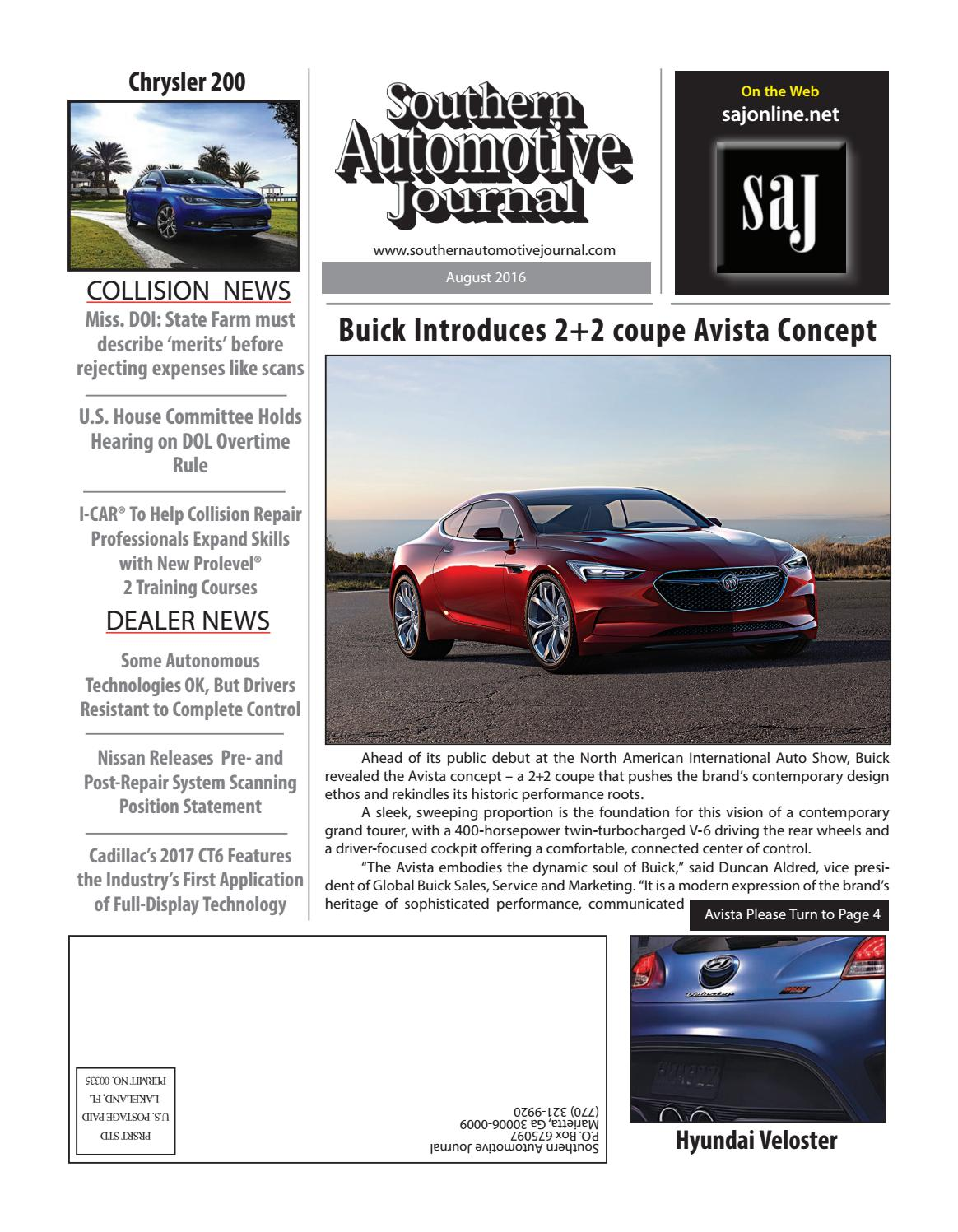 Southern Automotive Journal August 2016 by Southern ... on