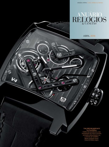 51567490a76 Anuário Relógios   Canetas - Abril 2014 by Anuário Relógios ...