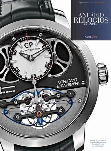 7762b279bec Anuário Relógios   Canetas - Abril 2017 by Anuário Relógios ...