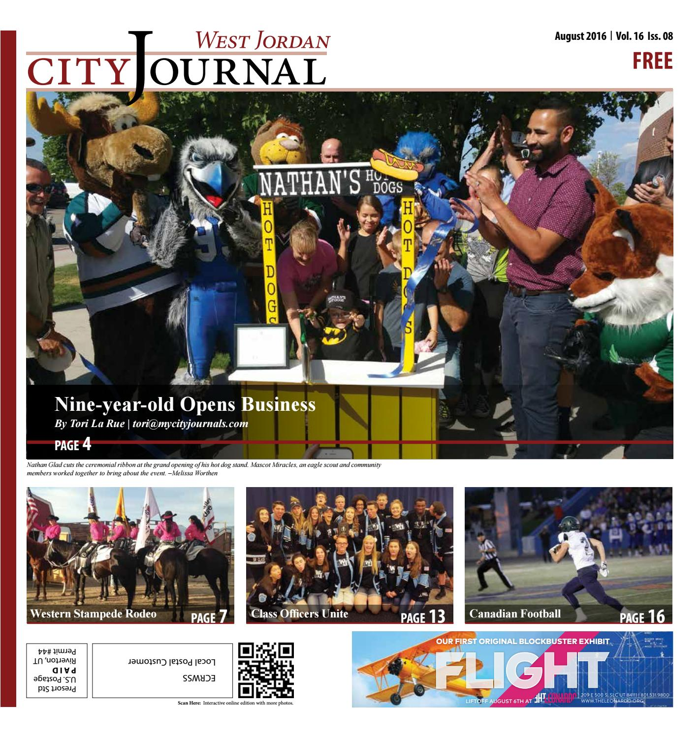 West Jordan August 2016 by My City Journals - issuu