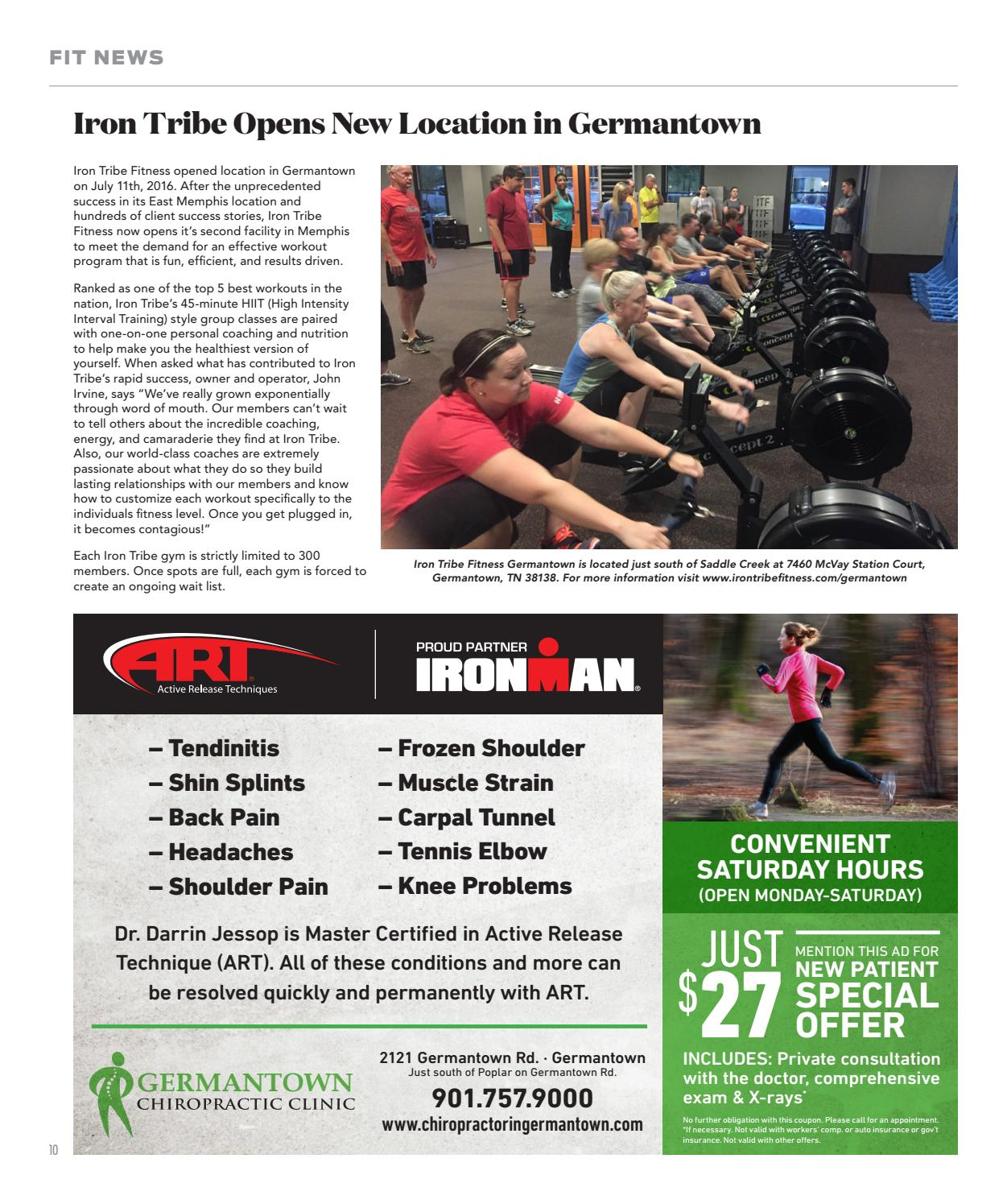 Memphis healthfitness august 2016 by memphis health fitness issuu xflitez Images