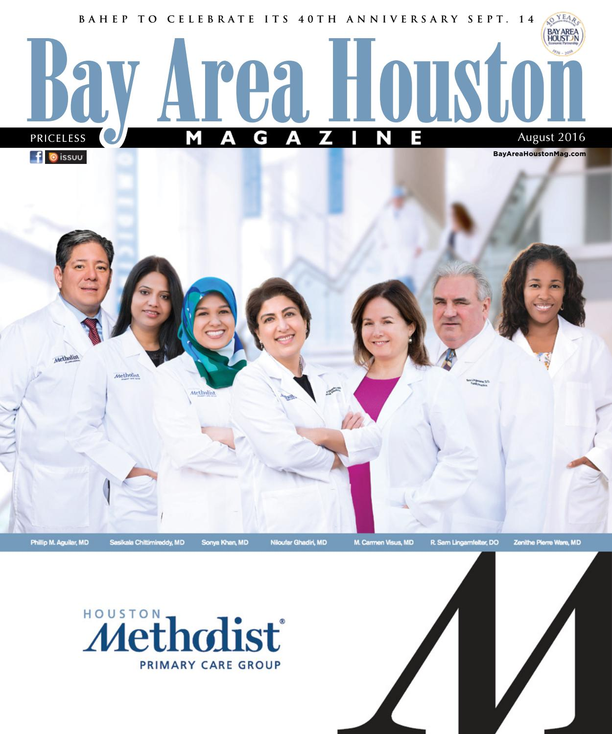 Bay Area Houston Magazine August 2016 By Bay Group Media