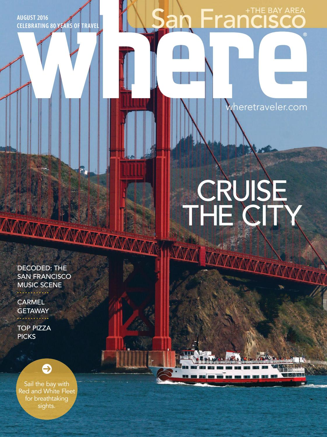 Where San Francisco August 2016 by Morris Media Network - issuu a525443f209c4