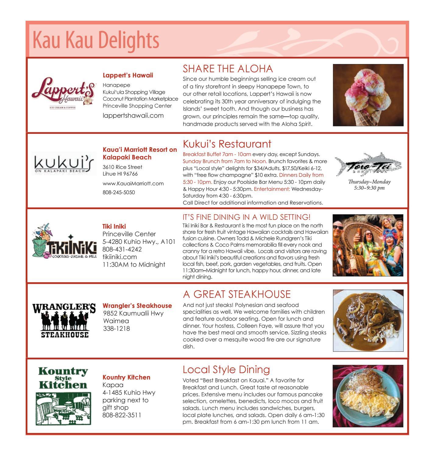 For Kauai August 2016 by For Kauai - issuu