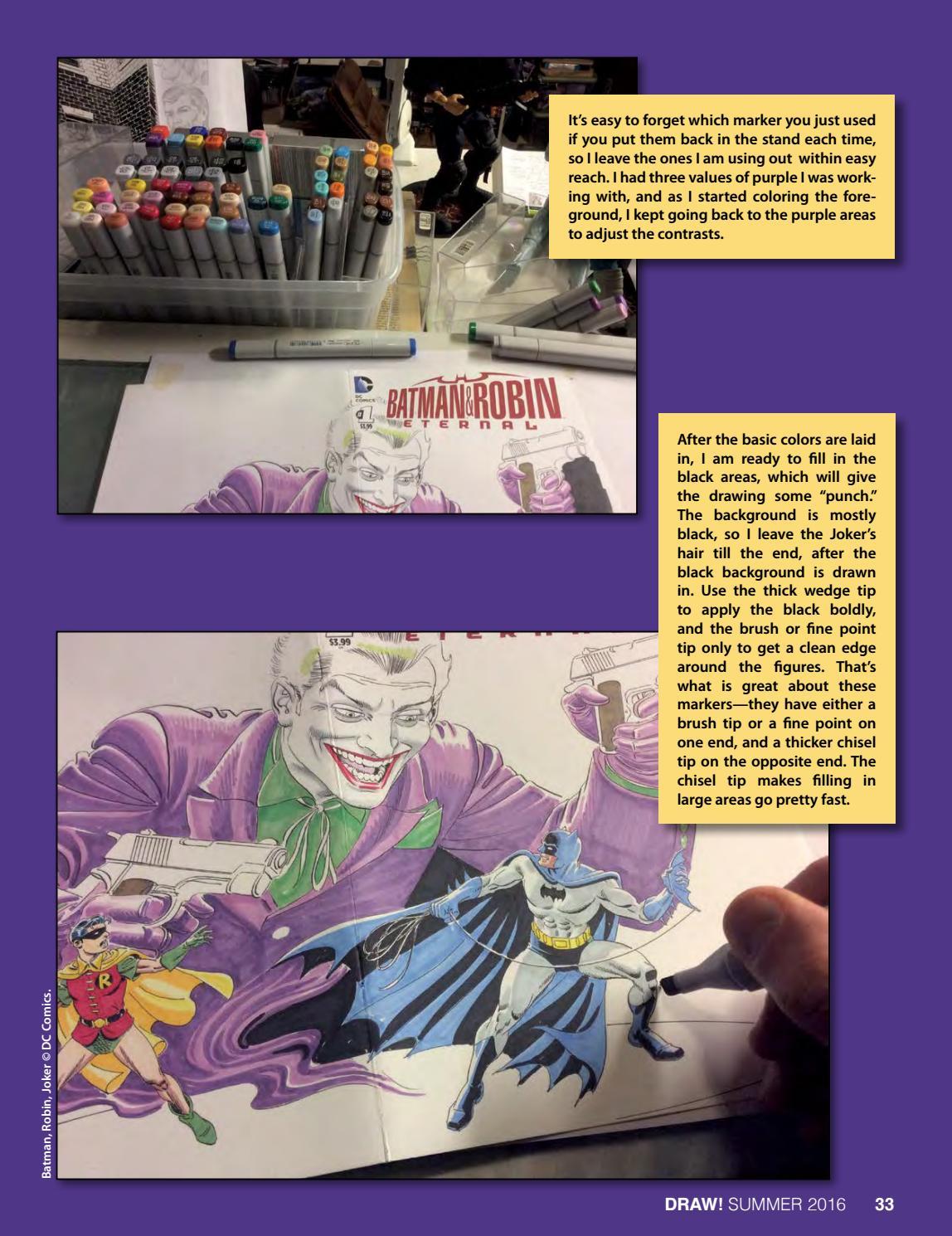 DRAW! Comic Books - #32